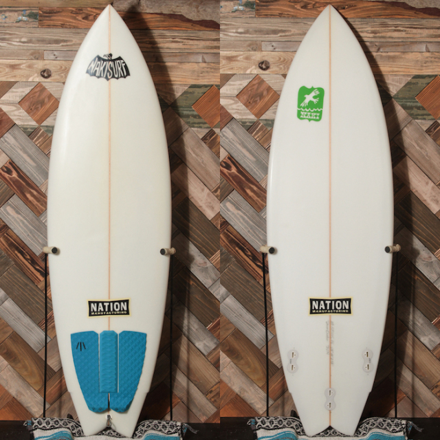 "【中古優良品】 NATION DREAM CRUSHER 5'9"" x 20"" x 2-3/8""   【商品グレード】★★★☆☆ No.k82"