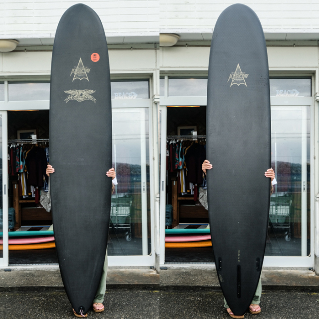 "【中古極上品】 AVISO GOLD LABEL ARROW 【CJ NELSON HIGH PERFORMANCE】  9'4"" x 22-7/8"" x 2-7/8""   【商品グレード】★★★★☆ No.k91"