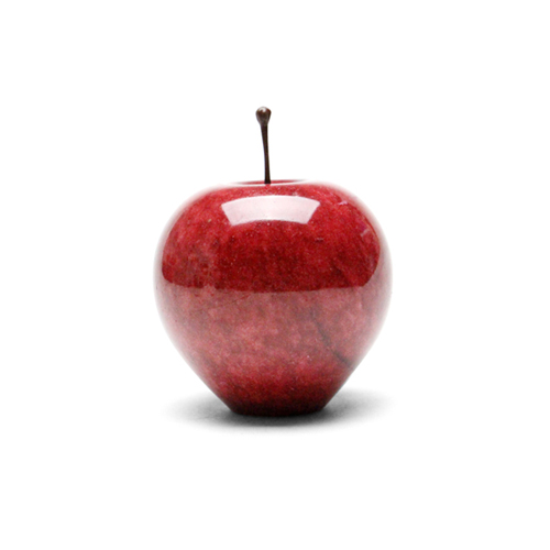 "Marble Apple ""Red / Large"""