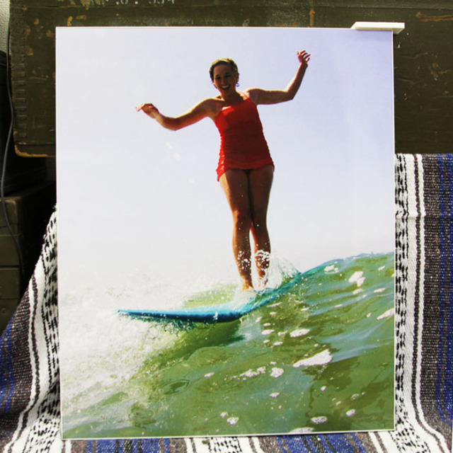 NAKIPHOTO [ショールーム展示作品] Esther Surf ジークレープリント(光沢)