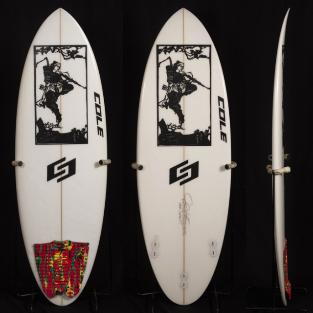 "【中古優良品】CURVE BALL 5'3"" x 19-3/8"" x 2-1/8"" for NAKI  【商品グレード】★★★☆☆"