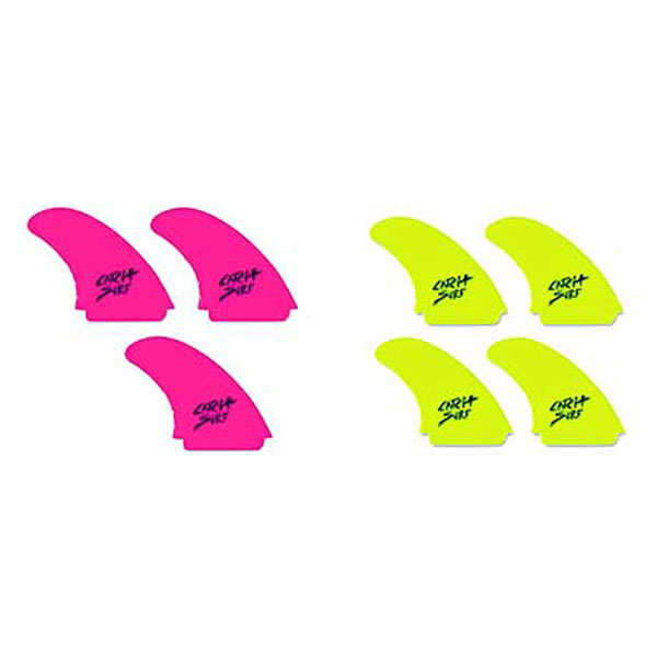 ODYSEA SAFETY EDGE QUAD FIN SET