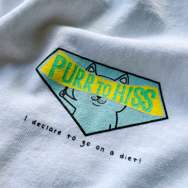 Birds'n'Birds 【PURR to HISS】 CAT LOVER L/S Tee