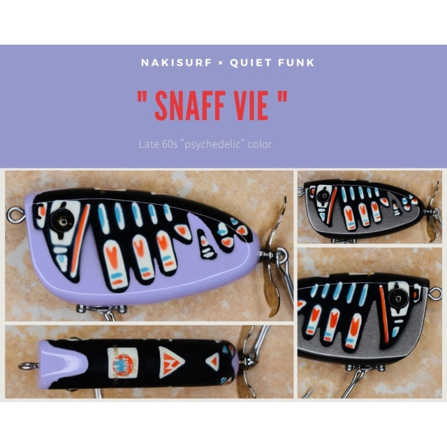 """quiet funk × NAKISURF 限定 """"Sanff Vie2ヘッド・レイバン""""《Late 60s """"psychedelic"""" color 》"""