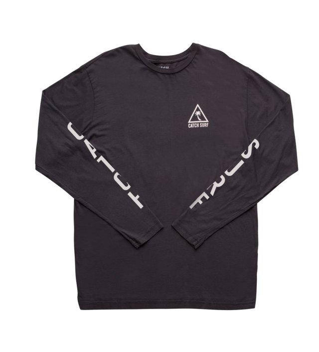 CATCH SURF TEAM II L/S TEE - BLACK