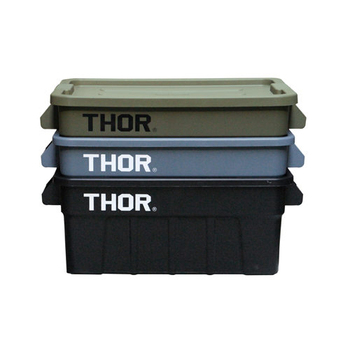 "THOR Large Totes With Lid ""53L / ソーラージトートウィズリッド""53L"