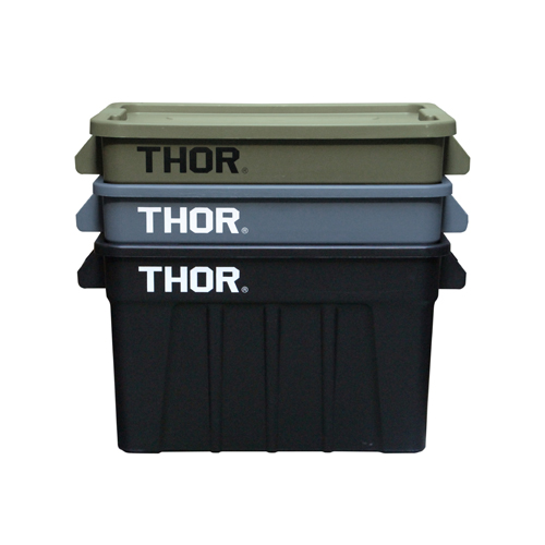 "THOR Large Totes With Lid ""75L / ソーラージトートウィズリッド""75L"