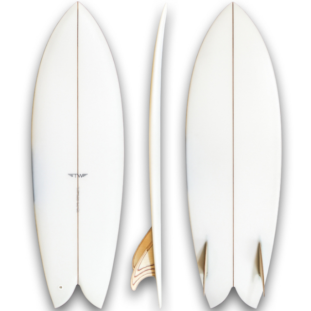 "TYLER WARREN DREAM FISH  5'2"" x 19 x 2-5/16"""
