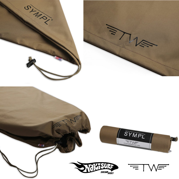 【SYMPL°】 シンプル  TYLER WARREN SIGNATURE COLLECTION FISH BAG 5'6 & 5'10