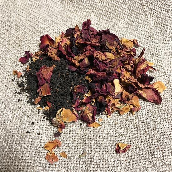 No.11ローズ紅茶ブレンドハーブティー / Rose and tea Blend Herb Tea
