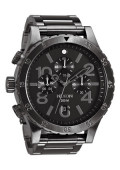 nixon_watchesthe_48_20_chrono_all_gunmetal_front1