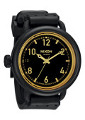 nixon_watches_the_october_matte_black_orange_tint_front1