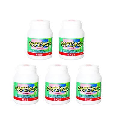 EX21シリーズ マルチビタミン 5個【ビタミン】【ミネラル】【レビューで送料無料】[p10]