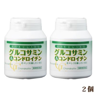 グルコサミン&コンドロイチン ボトル入りタイプ 2個(480粒入)【レビューで送料無料】 (ジアスメディック) [p10]