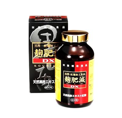 麹肥減DX【黒酢】600粒 1個[p10]
