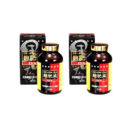 麹肥減DX【黒酢】600粒 2個[p10]