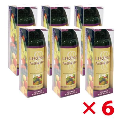 LIFZYME リフザイム (植物発酵エキス&レスベラトロール) 90粒×6箱セット【約10%OFF】 【酵素サプリ】 (ジアスメディック)[p10]