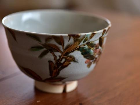 南天画茶碗メイン