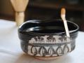 黒織部茶碗メイン