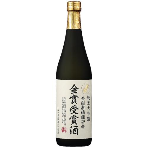 【100本限定】純米大吟醸 令和2酒造年度 金賞受賞酒720ml 七笑酒造