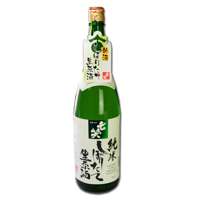 12月1日発送開始 純米しぼりたて1800ml