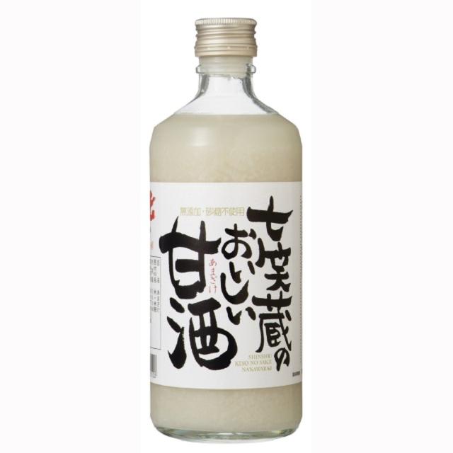 甘酒500ml 七笑酒造