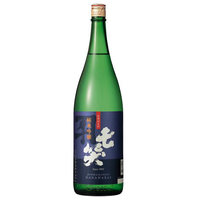純米吟醸1.8L 七笑酒造