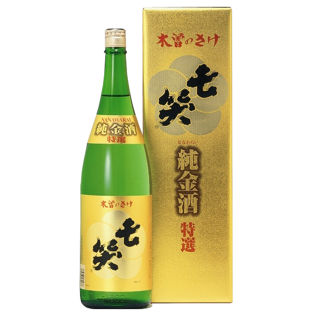 特選純金入り1.8L  七笑酒造