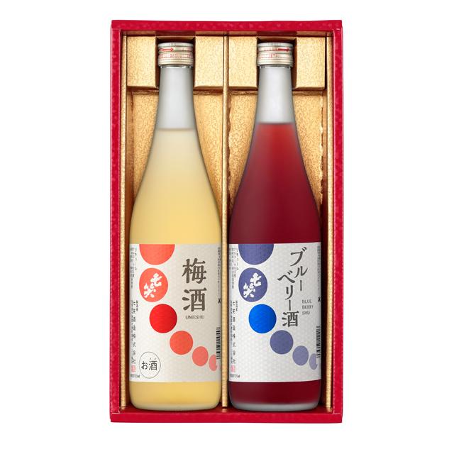 リキュールセット ブルーベリー酒、梅酒の2本セット(720ml×2本)