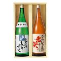 11月16日発送開始 辛口純米 しぼりたてセット1.8L×2本  七笑酒造
