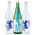夏生 3本セット(生酒720ml×2純米生酒720ml×1) 七笑 日本酒