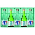 夏生 5本セット(生酒300ml×3 純米生酒(夏純)300ml×2) 七笑 日本酒【9/10発送より送料無料対象商品】