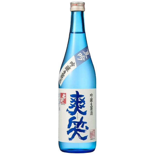 【【5月18日発売】】 爽笑 生原酒 七笑酒造
