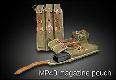 SRC製 MP40 シュマイザーマガジンポーチ