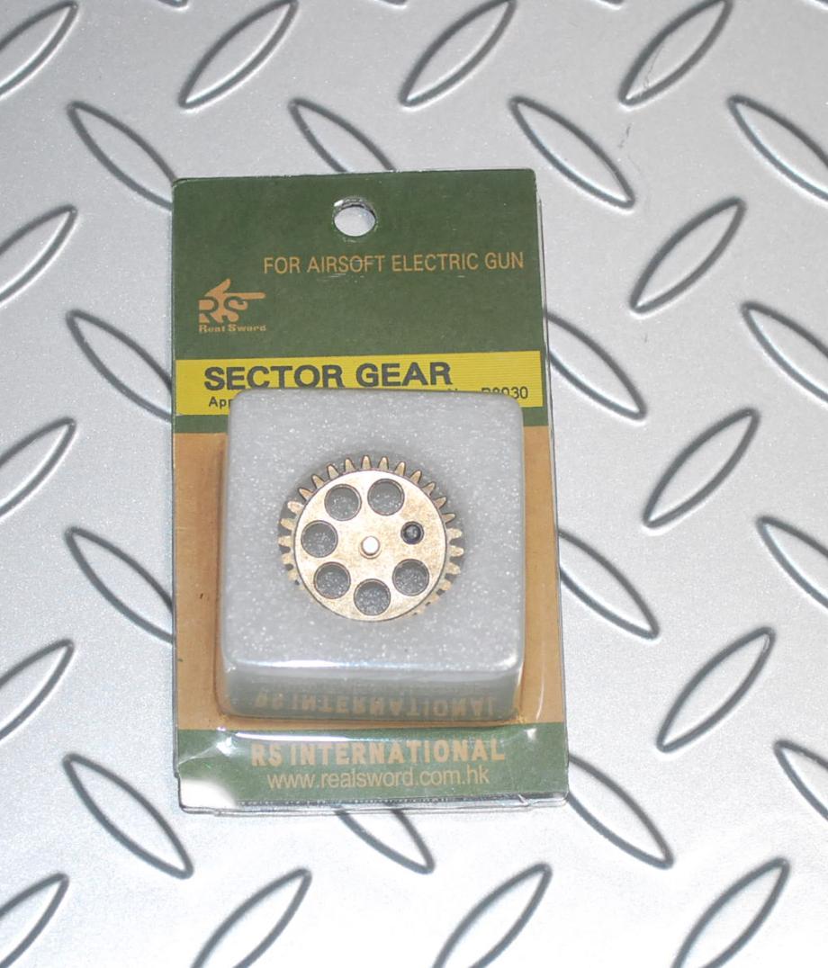 RSリアルソード 電動SVD用セクターギア
