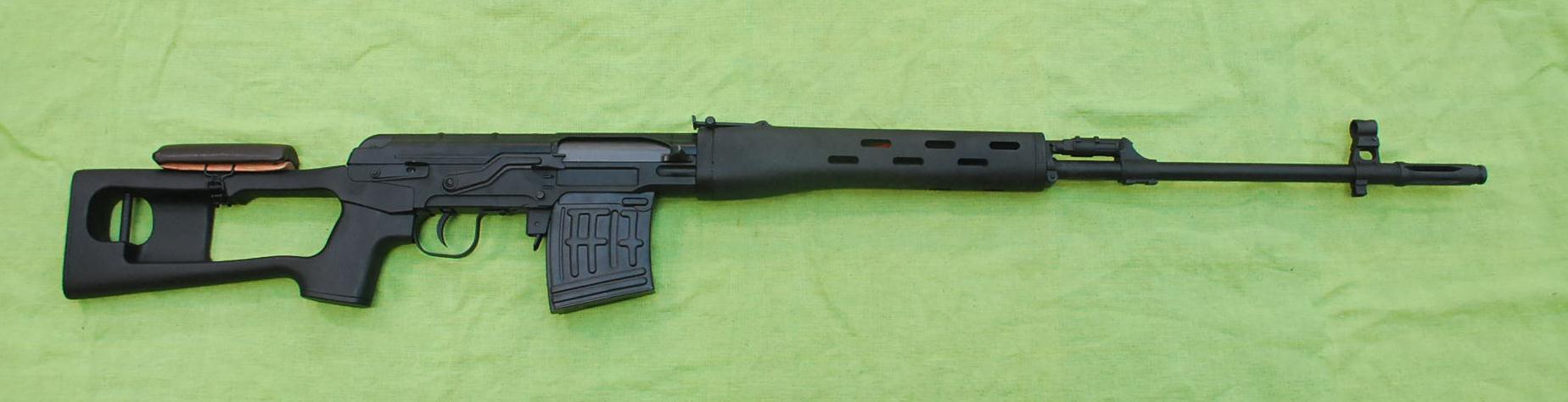 A&K製 SVD ドラグノフ 電動ライフル(セミフル切り替え可)