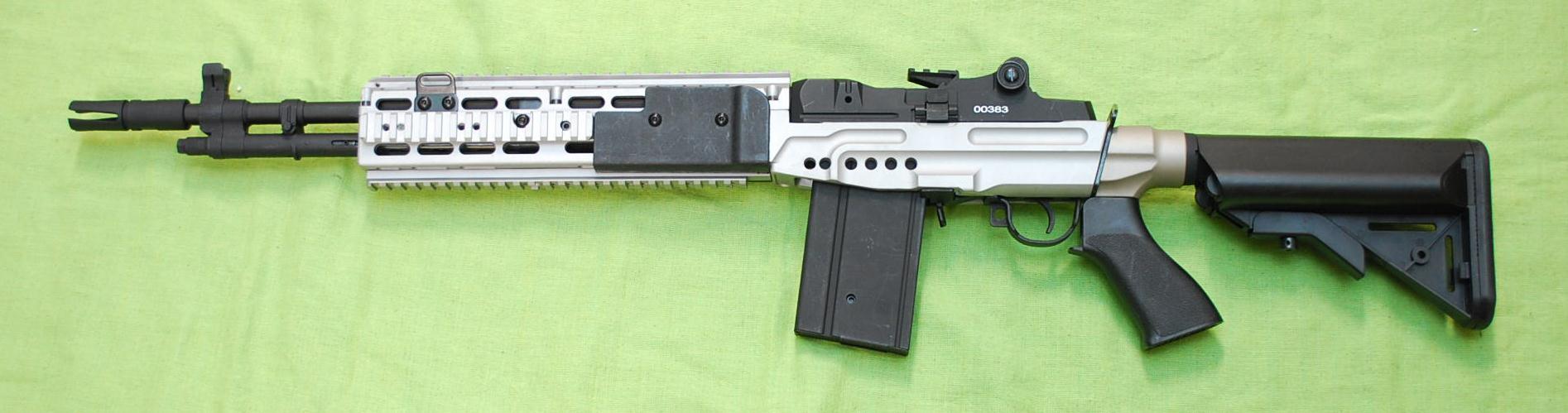 CYMA M14EBRクレーンタイプストック(シルバー)