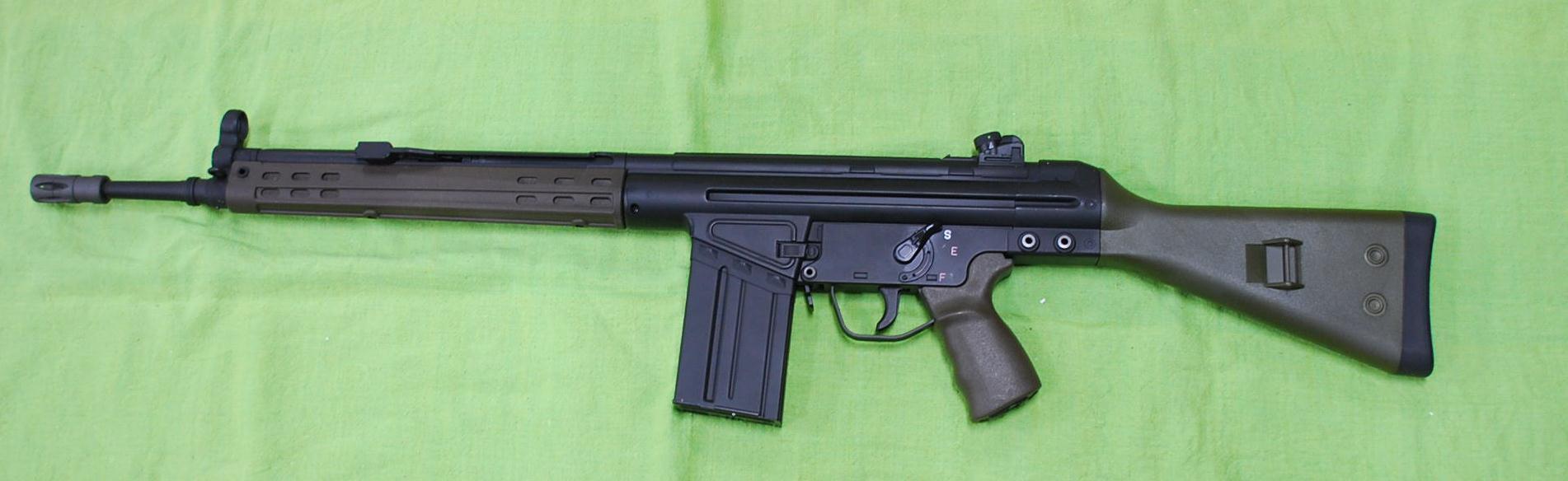 CA製電動ガン G3A3 SAR Sportmatch M41SG  CA021M