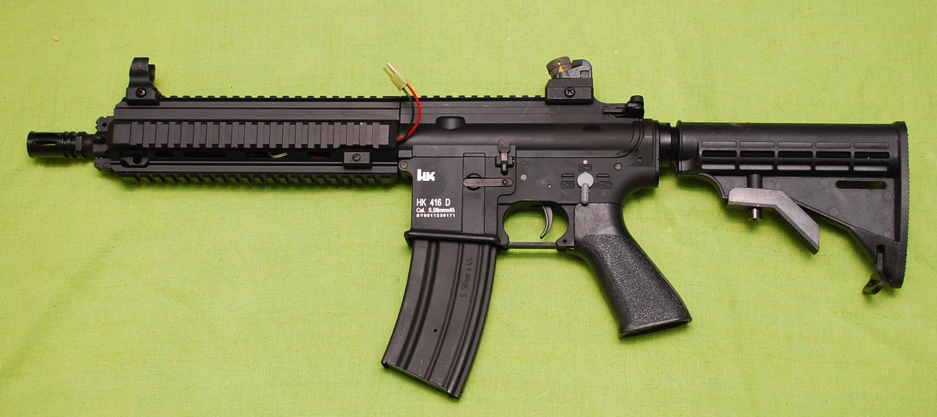 DBoy製 HK416 (刻印なし)フルメタル電動