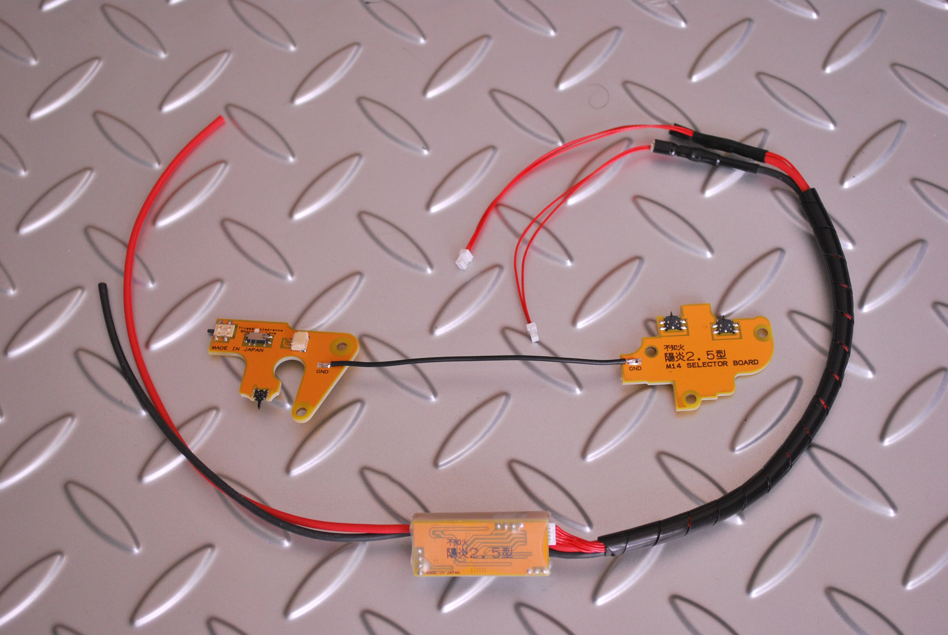 陽炎2.5型 M14 Ver7メカボックス用 電動ガン用電子トリガーハイパフォーマンスモデル
