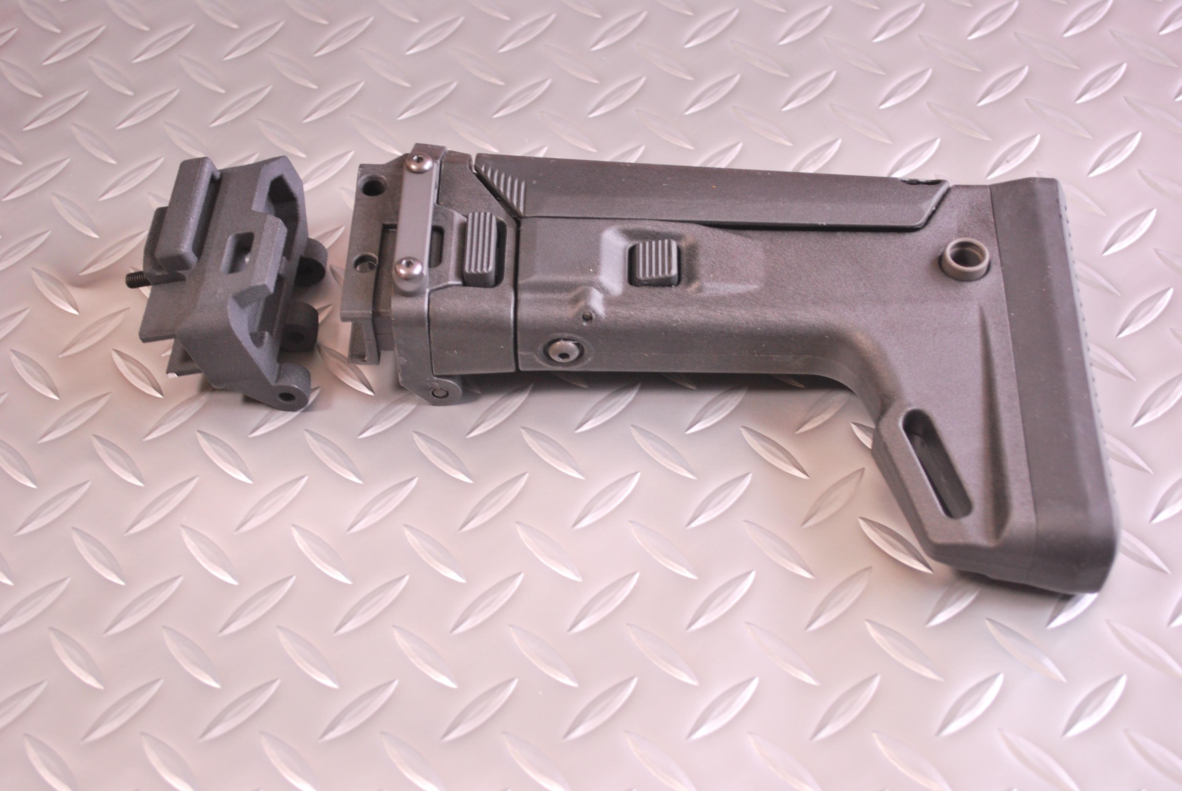 89式小銃用 PTS MASADA ACRストック用アダプター ストック付セット GBB対応加工済