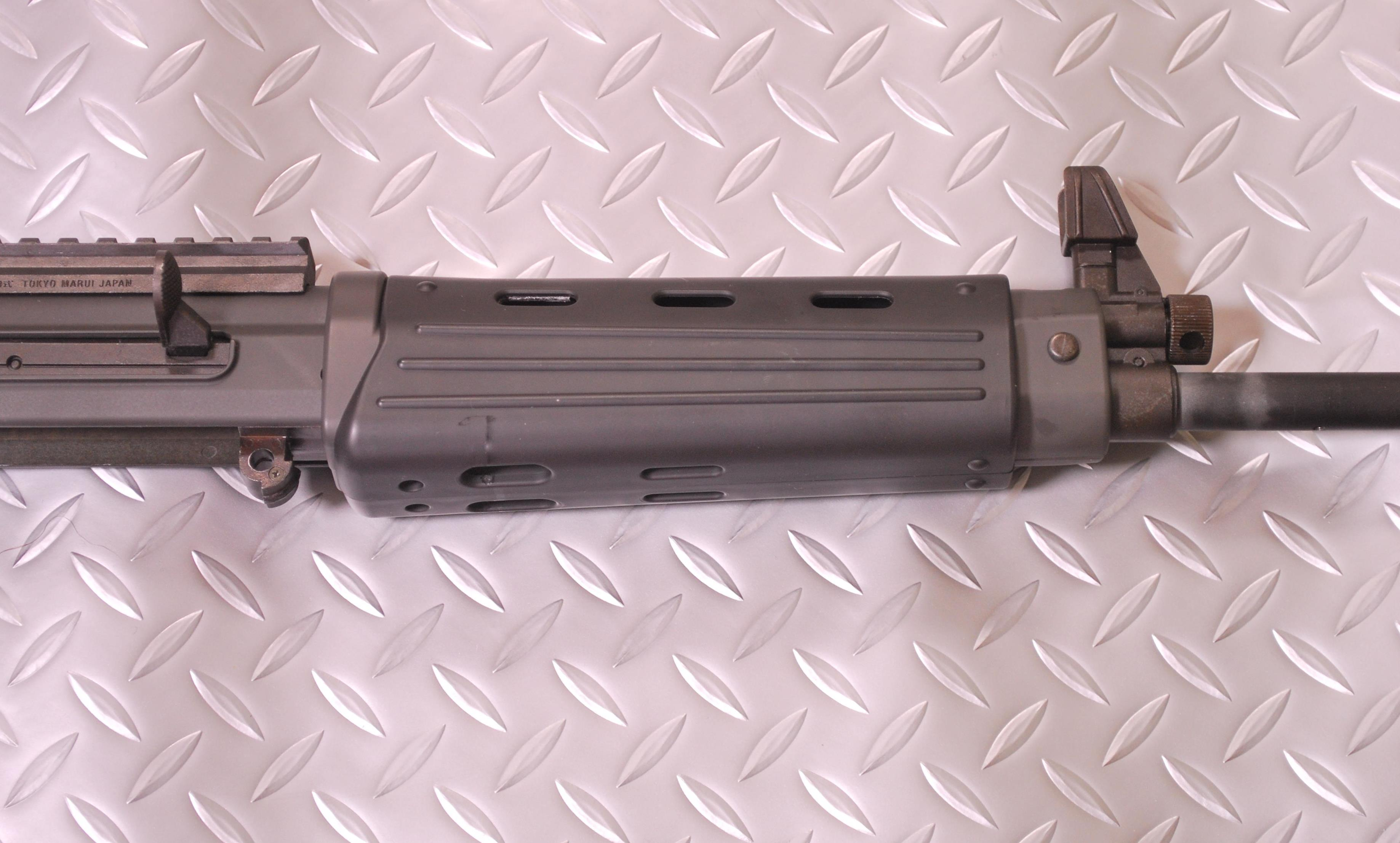 電動89式小銃 フロントショートカービン加工 マルイ電動89式
