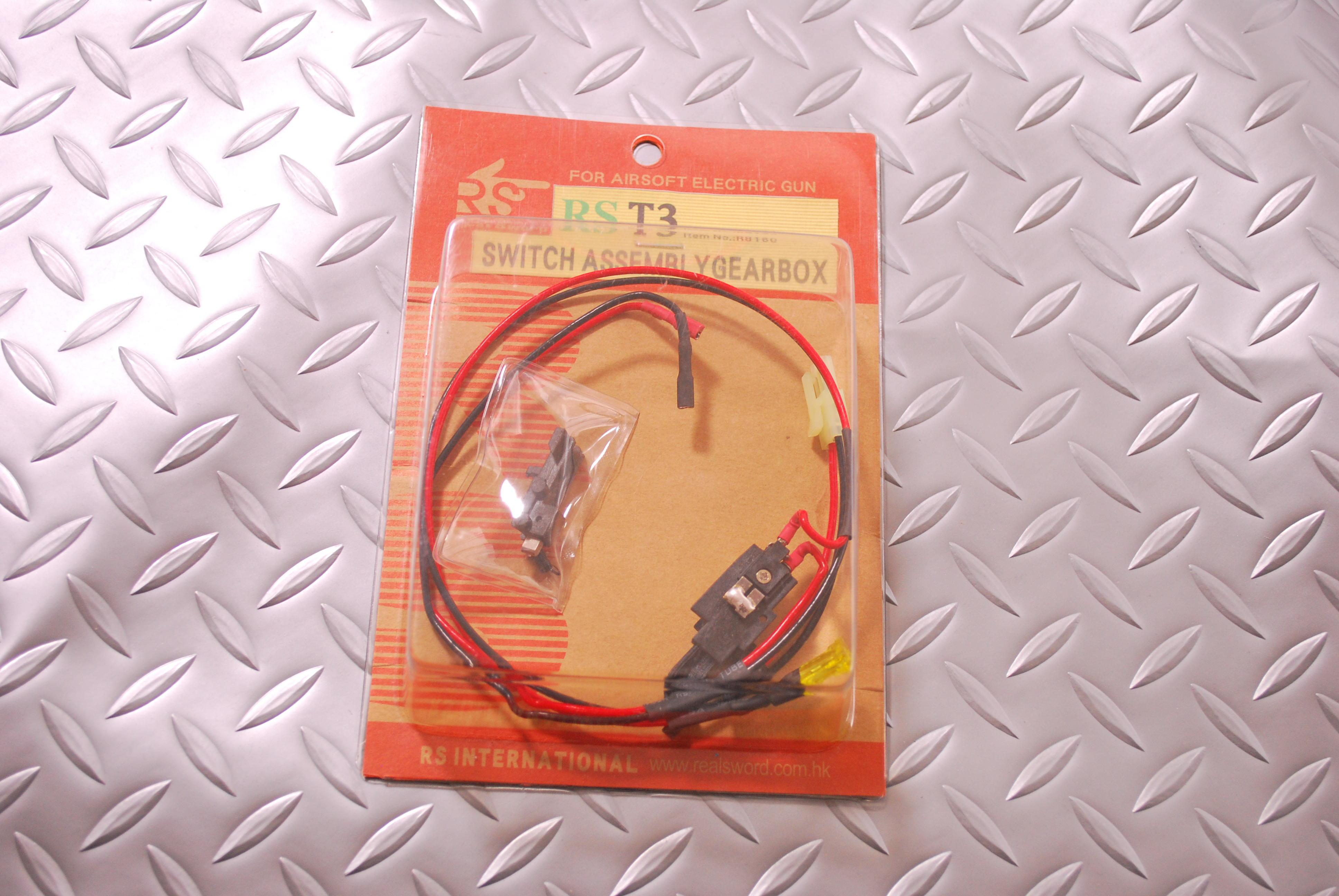 RSリアルソード 電動T3タイプ56式系用スイッチアッセンブリー