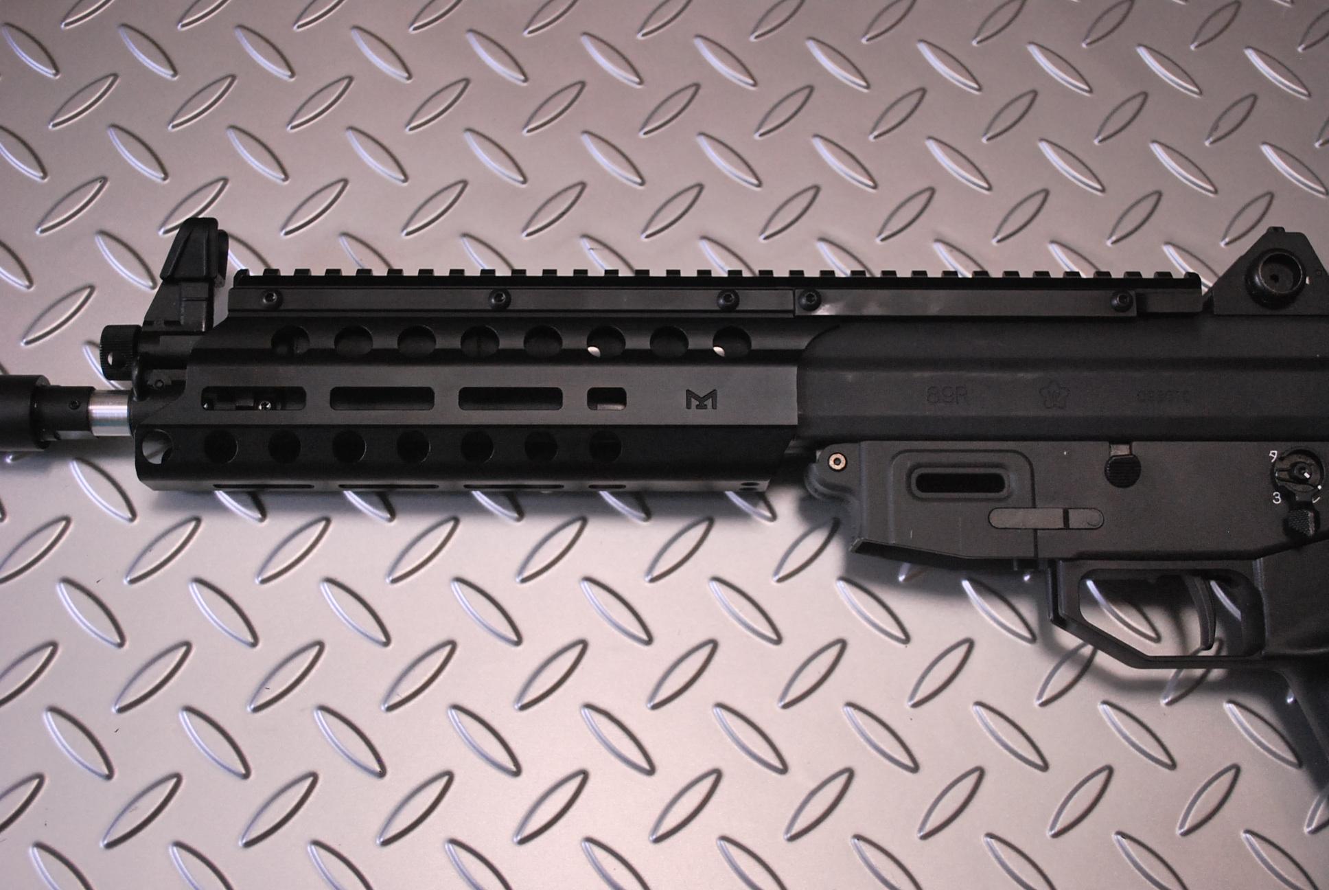 OTS 89式小銃用Mlok(エムロック)レールシステム 限定ショートバージョン
