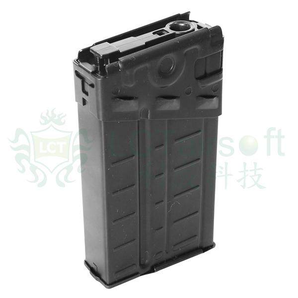 LCT パーツ 電動ガンG3A3用140連ノーマルマガジン リブ付 LC010
