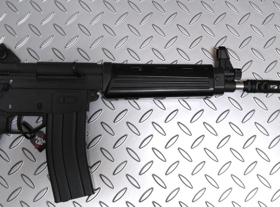 89式小銃ガスブローバック フロントショートカービン加工 マルイGBB89式