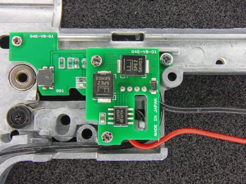 陽炎4型F89式用 電動ガン用電子トリガーハイパフォーマンスモデル(セレクター光センサーモデル)