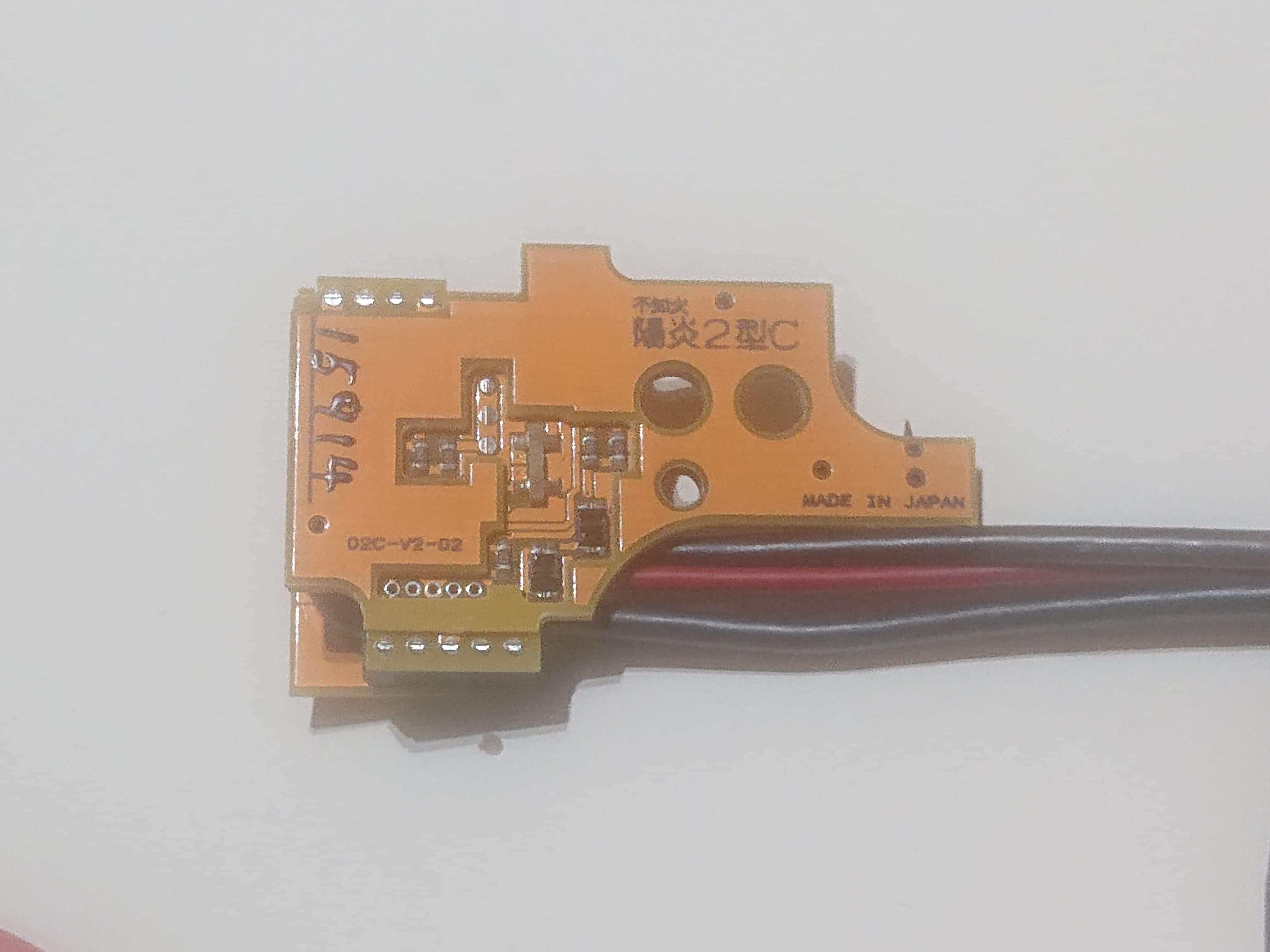 陽炎2型C+ M4系 Ver.2メカボックス後方配線用 電動ガン用電子トリガーハイパフォーマンスモデル