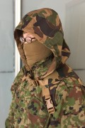 Sukerucom南蛮堂コラボ商品 SDF Tactical Alone Hood タクティカルアローンフード  限定色陸自FTC迷彩