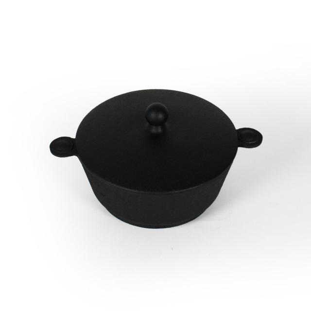 南部鉄器 ころちゃん鍋 キャセロール IH対応 / ガスコンロ対応 / オーブントースター対応